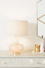 Anthropologie Eleanor Lamp Ensemble