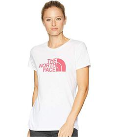 The North Face TNF White Heather/Cerise Pink