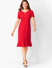 Talbots Dobby Shift Dress