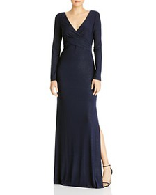 Laundry by Shelli Segal - Long Sleeve Gown - 100%