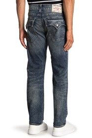 True Religion Relaxed Slim Fit Flap Jeans