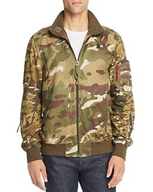 G-STAR RAW - Bolt Camouflage-Print Bomber Jacket