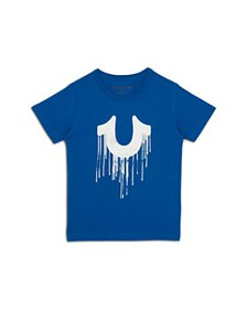 True Religion - Boys' Dripping Horseshoe Graphic T