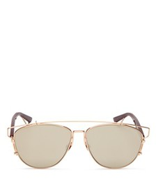 Dior - Women's Technologic Aviator Mirror Sunglass