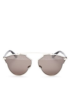 Dior - Women's So Real Mirrored Round Sunglasses,
