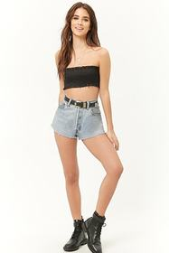 Forever21 Woven Smocked Bandeau
