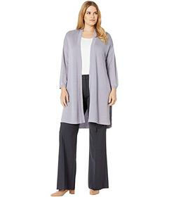 Anne Klein Plus Size St. Barts Long Cardigan