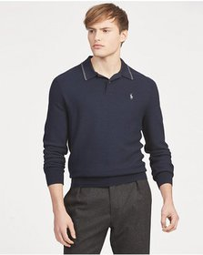 Ralph Lauren Wool-Blend Polo Sweater