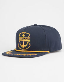 THE MAD HUEYS Captain Mens Snapback Hat_