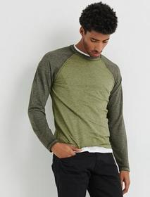 Lucky Brand Microterry Burnout Crew