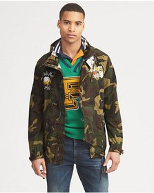 Ralph Lauren Camo Graphic Jacket