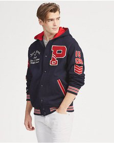 Ralph Lauren Hooded Letterman Jacket