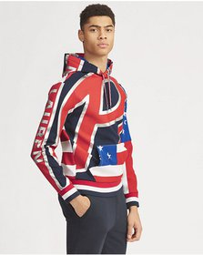 Ralph Lauren Double-Knit Graphic Hoodie