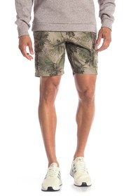Slate & Stone Floral Printed Cargo Shorts