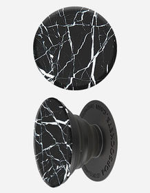 POPSOCKETS Black Marble Phone Stand And Grip_