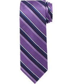 Jos Bank Traveler Collection Striped Tie CLEARANCE