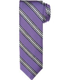 Jos Bank 1905 Collection Checkered Stripe Tie CLEA