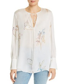 Theory - Fluid Silk Tunic