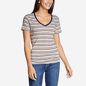 Women's Favorite Short-Sleeve V-Neck T-Shirt -