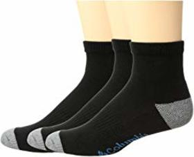 Columbia Quarter Athletic Socks 3-Pack