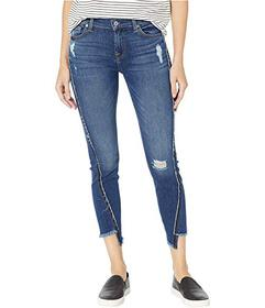 7 For All Mankind Ankle Skinny in Alluring Indigo