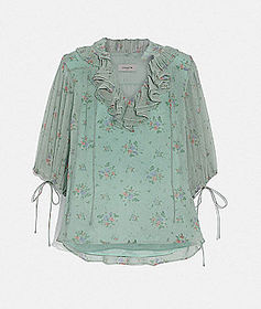 Coach prairie bouquet print top