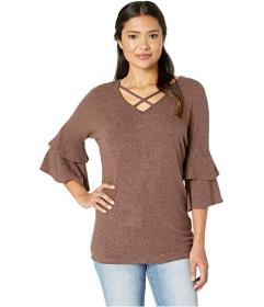 Wrangler Crisscross Neck Tunic