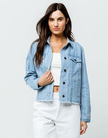 RVCA Pause It Womens Denim Jacket_