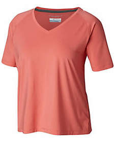 Columbia Women's Sandy Trail™ Short Sleeve—Plus Si