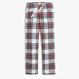 J. Crew Factory Yarn-dyed flannel pajama pant
