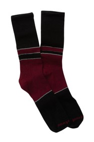 SmartWool Colorblock Denim Crew Socks