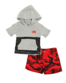 Ecko 2pc hooded tee & shorts set (infant)