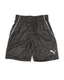 Puma heather printed performance shorts (4-7)