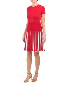 VALENTINO Made In Italy Pleated Dress
