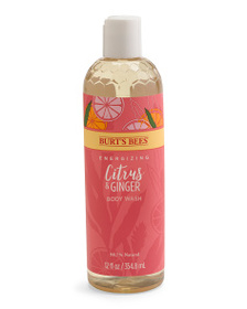 BURT'S BEES 12oz Citrus And Ginger Body Wash