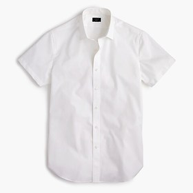 J. Crew Short-sleeve Ludlow stretch two-ply easy-c