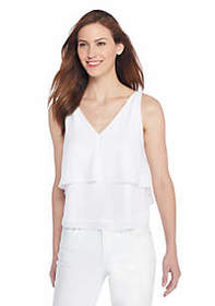 The Limited Modern Tiered Sleeveless Top