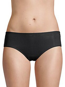 French Connection Ribbed Hipster Briefs ANTHRACITE