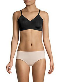 French Connection Micro Unlined Bra ANTHRACITE