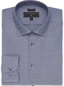 James Tattersall Kings Cross Gray Woven Slim Fit D