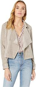 Cupcakes and Cashmere Robin Drape Front Moto Jacke