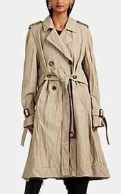 J.W.Anderson Crinkled Double-Breasted Trench Coat