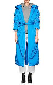 A_PLAN_APPLICATION Insulated Long Hooded Coat