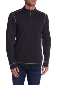 Agave Barrel Mock Neck Pullover