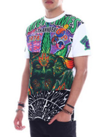 High Times 1974 mash up cut and sew tee
