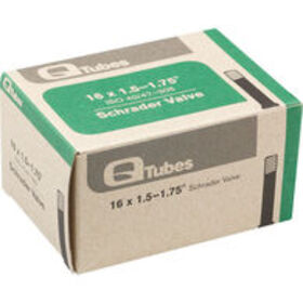 QUALITY BICYCLE PRODUCTS Q Tubes Schrader Valve, 1
