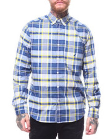 Nautica tartan plaid buttondown shirt