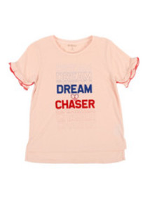 BCBGirls dream chaser ruffle tee (7-16)