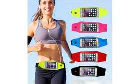 Running Belt, Fitness Waist Bag For Smart Phones