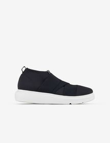Armani SNEAKER WITH ELASTIC INSERTS